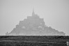 UNDER THE FOG. (Welcome in a wild world) Tags: fog foggy landscape blackandwhite montsaintmichel horizon epic mont monument nature grey