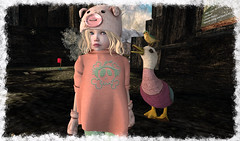 ...Anatidaephobia... (Alea Lamont) Tags: ndmd cuties toddlers mesh avatar children avatars baby body unisex child girl clothing tots truth hair 8f8 gatcha