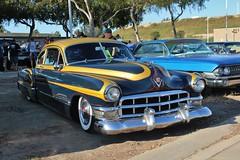 17th Annual Cruisin' for a Cure (USautos98) Tags: 1949 cadillac caddy caddie hotrod streetrod kustom scalloppaint