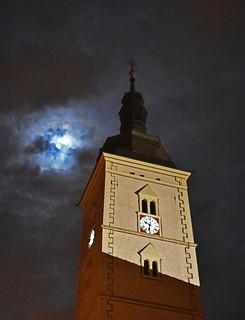 zvonik crkve svetog Marka, Zagreb, Hrvatska / the bell tower of the St. Mark's Church