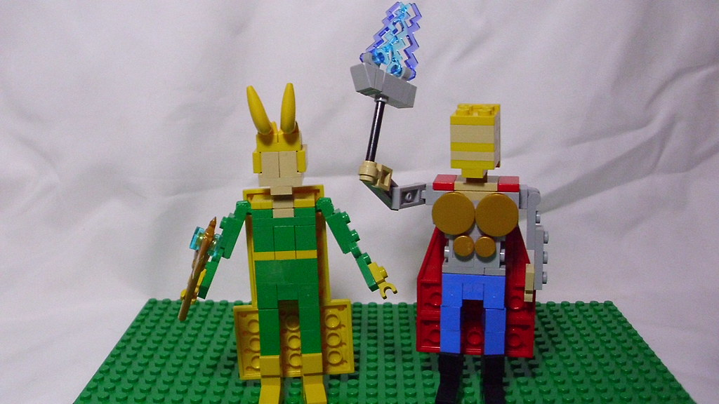Lego Marvel Moc: The World's Most Recently Posted Photos Of Lego And Thor