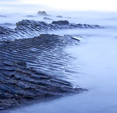 The heart is willing (pauldunn52) Tags: widemouth bay beach layers rocks cornwall long exposure