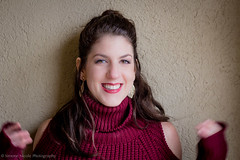 IMG_6097 (simonenicolephotography) Tags: maroon winter january texas colleyville north richland hills roots coffee house mug tea menu lady girl brunette amanda hazel brown eyes canon rebel t3i 50mm simone nicole photography stairs steps wool knit dress boots baby its cold outside outdoors