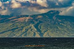 South Maui Kayak, West Maui Mountains. (r1aviator) Tags: maluakabeach wailea maui hi