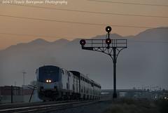 Eastbound Sunset Limited nearing Indio, CA. (Travis Berryman) Tags: unionpacific beaumonthill uprr upyumasub desertrailroading