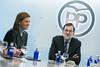 Mariano Rajoy preside la reunión del Comité de Dirección del PPv (Partido Popular) Tags: pp partidopopular rajoy cospedal comitededireccion génova