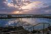 Sunday morning (Nesho83) Tags: sun rays summer clouds pool amazing wow nature sky waves ocean sea sydney sunrise morning dawn beach