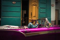 Streets of Havana - Cuba (IV2K) Tags: havana habana lahabana cuba cuban tuba caribbean street castro fidelcastro fidel sony sonyrx1 rx1 car auto automobile classic classical