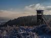 Deerstand (jonasschmidt1909) Tags: deerstand wonderland sauerland germany winter cold trees olympus omd em10
