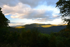A view along Skyline Drive, Shenandoah National Park