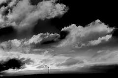 Black White III °017/365 (donlunzo16) Tags: nikon df black white bw lightroom raw nef preset vsco film vignette pack 3x nd filter city town nikkor afs lens 58mm f114 365the2017edition 3652017 day17365 17jan17 red sw schwarz weis schwarzweis sky clouds tower sun sunrise stuttgart hometown silhouette