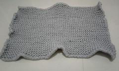 Tapete de banheiro em malha (litasky) Tags: trico tricot tapete banheiro fiodemalha malha guarani knit knitting bath rug ravelry