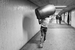 Never Leave Home Without (Jürg) Tags: street tiefenbrunnen zurich underground barrel