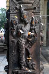 Varaha Avatar - Vishnu in Boar form (VinayakH) Tags: kanchipuram india tamilnadu temple sculptures historic religious hindu shiva varadharajaperumaltemple varadharajaperumal vijayanagaraempire