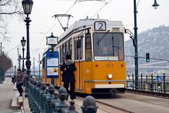 Budapest Tram - Ganz KCSV–7 (prahatravel) Tags: budapesti magyarország villamos bkv zrt villamosvonalhálózata magyar budapest trams tram system tramway mass transit public bud pest transportation hungary ungarn