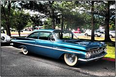 1959 Chevrolet BelAir - Explored! (NoJuan) Tags: chevrolet belair chevy 59chevy chevroletbelair olympusep5 fendersonfrontstissaquah olympus1240mmf28