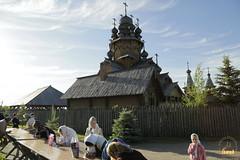 1. Patron Saint's day at All Saints Skete / Престольный праздник во Всехсвятском скиту