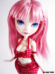Super Sonico! (nonaptime) Tags: bodymod repaint reroot apoxiesculpt everafterhigh