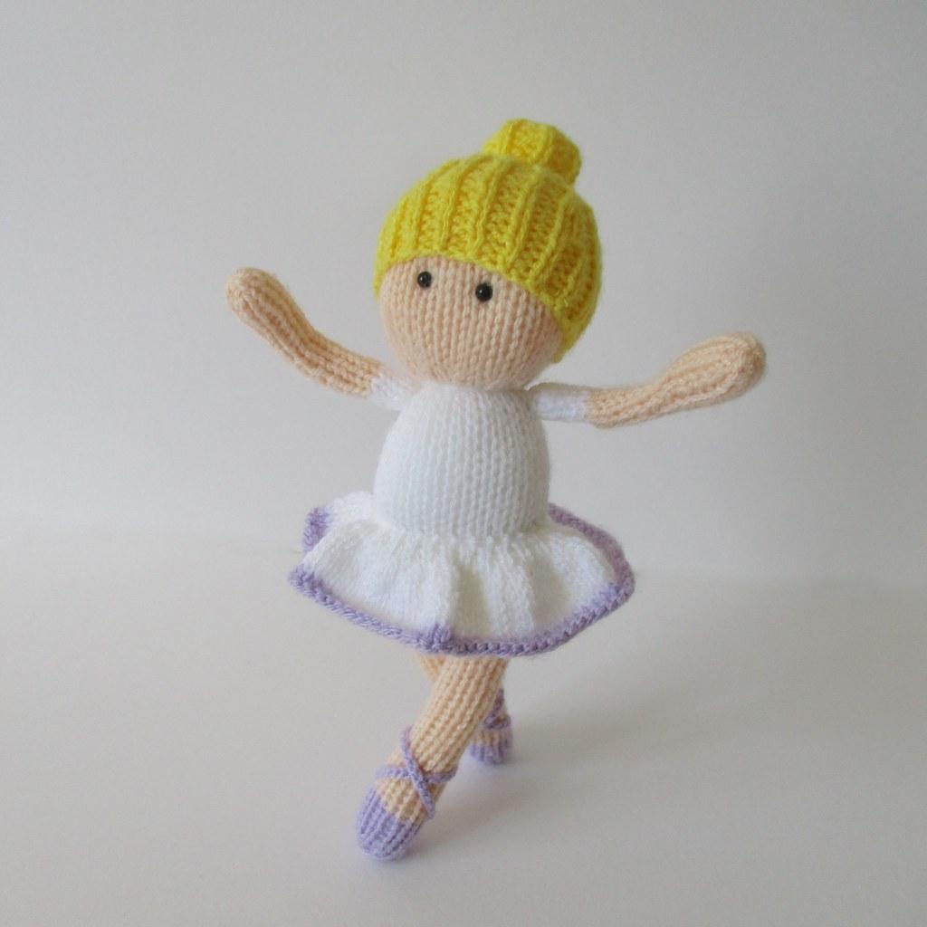 Knitting Pattern Ballerina Doll : The Worlds Best Photos by knitting patterns by amanda ...