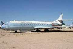 N1001U_01 (GH@BHD) Tags: arizona museum tucson aircraft aviation pima preserved airliner caravelle sudaviation aerospatiale pimaairspacemuseum aeroservice n1001u caravelle6r westerngeophysicalcorporation
