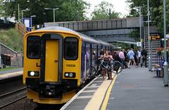 150238 British Railways Class 150 Sprinter, First Great Western, Keynsham, Somerset (Kev Slade Too) Tags: firstgreatwestern keynsham sprinter britishrailways dmu class150 52238 150238 2o97