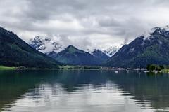 Aachensee, Austria - 10 (www.bazpics.com) Tags: lake holiday alps green water austria see tirol town urlaub may mai alpine maurach oesterreich 2015 aachensee at