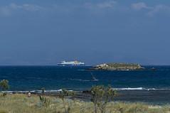 Summer in Greece (n1kolas a.) Tags: sea summer sun landscape seaside ship vessel greece watersports paros