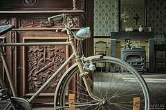 ... (Szydlak Szk) Tags: old urban house abandoned home bike bicycle statue rural fireplace sad decay dom empty nostalgia forgotten villa nostalgic mansion exploration maison derelict fahrrad hdr decayed rower urbex szk sadworld rurex opuszczony szydlak