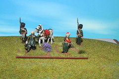 Napoleon and Staff (JJN Miniatures) Tags: high marshall waterloo belle command ney adc alliance hussar drouot napoloeon soult napoloenic gourchard
