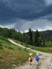 Approaching Storm (boydechar) Tags: brighton hike thundershowers approachingstorm wasatchmountains brightonutah