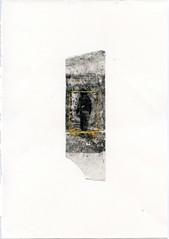 ({anna malina}) Tags: art mixedmedia stickytape laserprint gold m 2014