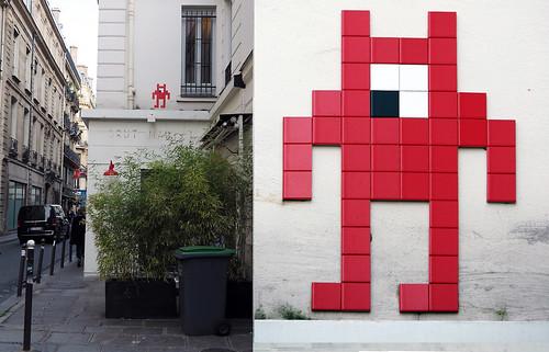 Space invader [Paris 2e]