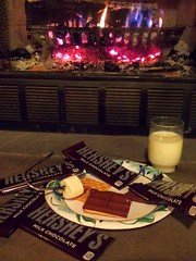 Heshey's (emilyc690) Tags: hersheys chocolate bars smores food fire advertising