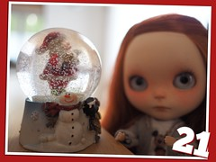 I always love snow globes.... special kind of magic