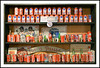 Coke Cans - Ye Ole Carriage Shop's Coca Cola Room (sjb4photos) Tags: yeolecarriageshop springarbor cokebottles