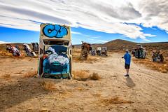 Where to Begin? (KPortin) Tags: goldfieldnevada carforest wilbur photographer desert vehicles abandoned rusting painted art artinstallation