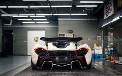 Racemode. (Alex Penfold) Tags: mclaren p1 race mode supercars supercar super car cars autos white china beijing alex penfold 2016