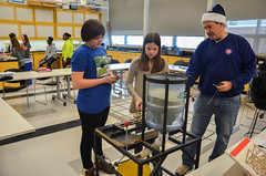 Middle School Bridge Building (North Shore Country Day School) Tags: 1617 1612 2010s 2016 20162017 lnh december ms science winter photoofday