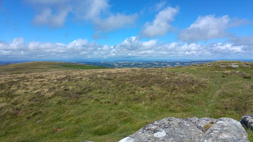 View north from Hookney Tor, Dartmoor