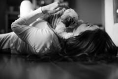 Playtime (rubenb.hardwick) Tags: puppy 12 50mm ais d700 nikon