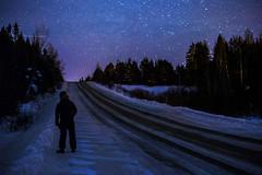 Chasing the stars (Danny VB) Tags: sky star stars winter snow night photo photography christmas dannyboy gaspesie quebec canada canon 6d