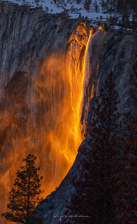 Fire Falls - Yosemite