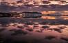 Finding peace in that place... (Emykla) Tags: fusaro napoli nikon d3100 purple viola tramonto sunset lago lake bacoli campania welcomeincampania clouds cielo sky nuvole water acqua reflection riflessi