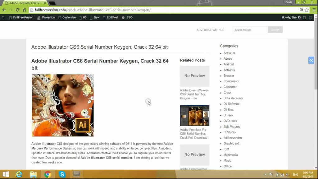license key for adobe cs6
