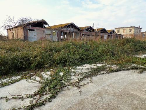 Les maisons anciennement habitées du complexe