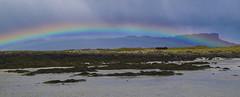 Eigg, moments after the storm (tiggerpics2010) Tags: wayfarerdinghy smallisles easter scotland westernisles rum eigg muck rainbow