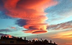 Nube lenticular (Antonio Chacon) Tags: andalucia amanecer costadelsol españa spain sunrise marbella cloud sky