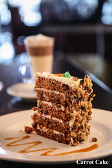 Carrot Cake (Symposium Cafe Ancaster) Tags: carrotcake cake desserts ancaster ontario restaurants dessert restaurant cafe coffee latte specialty coffees lounge specials