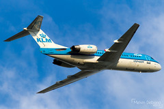 KLM Cityhopper Fokker 70  |  PH-KZR  |  Amsterdam Schiphol - EHAM (Melvin Debono) Tags: klm cityhopper fokker 70 | phkzr amsterdam schiphol eham melvin debono spotting canon 7d 600d airport airplane aviation aircraft plane planes netherlands holland