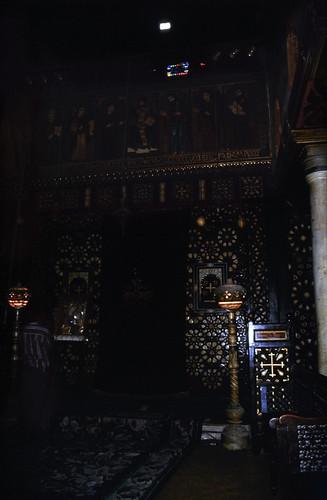 """Ägypten 1999 (701) Kairo: Hängende Kirche • <a style=""""font-size:0.8em;"""" href=""""http://www.flickr.com/photos/69570948@N04/32572397546/"""" target=""""_blank"""">View on Flickr</a>"""
